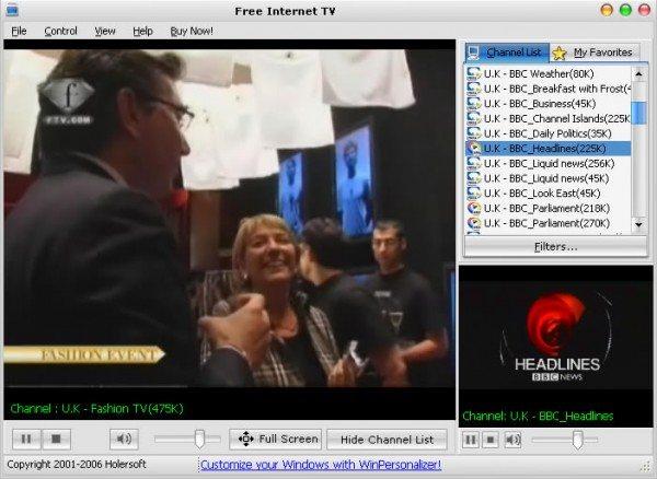 Софт для Интернет ТВ