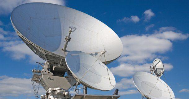 спутниковая антенна монтаж